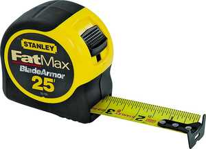 Stanley Tools 33-725 25 ft x1-1/4 in Tape Rule