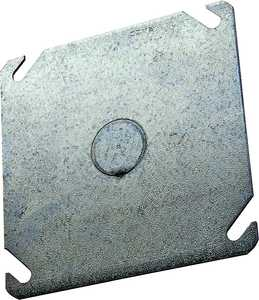 Raco 8753 4 in Square Flat Blank Cover 1/2ko