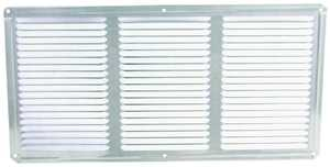 LL Building Products EAC16X8 16x8 Mill Aluminum Undereve Vent