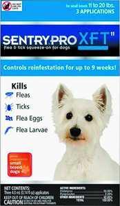 Sergeant's Pet 2909 Flea&tick Dog 11-20lb Sen Pro