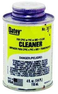 Oatey 30779 4 oz Lovoc Clear Cpvc/Pvc Cleaner