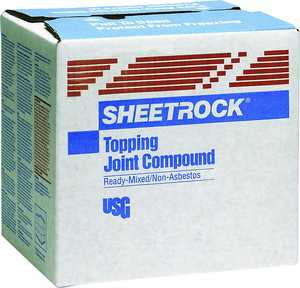US Gypsum 380112048 Sheetrock Topping Joint Compound 50lb