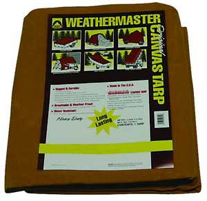 Dize Co CA1020D 10x20 10 oz Canvas Tarp