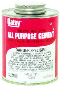Oatey 30834 16 oz Lovoc All Purpose Cement
