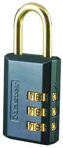 Master Lock 647D 1-1/4-Inch Luggage Combination Padlock