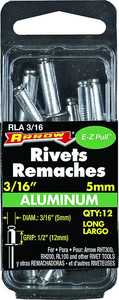 Arrow Fastener Co RLA3/16 3/16 in Aluminum Long Rivet