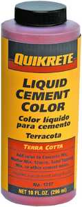 Quikrete 131704 10 oz Terra Cotta Cement Color