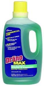 Sc Johnson 70240 64 oz Buildup Remover Max Drano