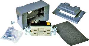 Bell Weatherproof 5874-5 Outlet Kit Gray