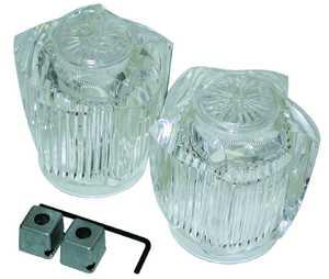 Danco 80906 Price Pfist Lrg Clear Handles