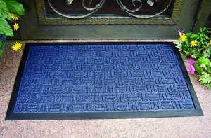 Homebasix 06ABSHE-11-3L 18x30 Blue Gateway Floor Mat