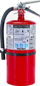 First Alert PRO10 Fire Extinguisher 10lb Red