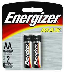 Energizer Battery E91BP-2 Energ Aa Battery 2pk