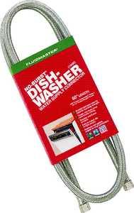 Fluidmaster 6W60 3/8cx3/8cx60 Stainless Steel Dishwasher Supply