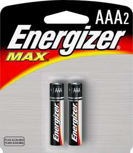 Energizer Battery E92BP-2 Energ Aaa Battery 2pk