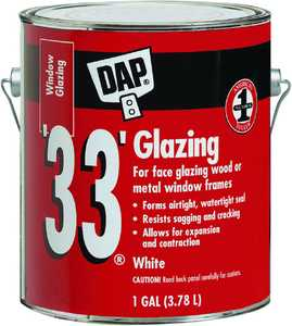 Dap 12019 Gal White Glazing Compound