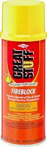 Dow Chemical 306179 12 oz Great Stuff Fireblock