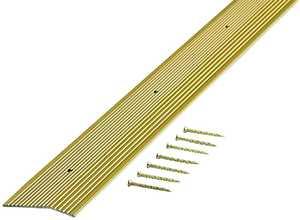 M-D Building Products 79251 2x72 Satin Brass Carpet Trim