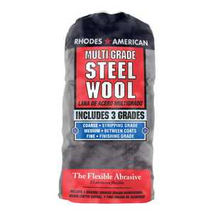The Homax Group 1021114 Steel Wool Assorted Grades