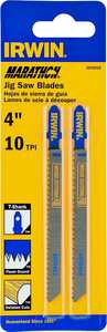 Irwin 3072412 Jigsaw Blade 4 in 10 Tpi Carbon