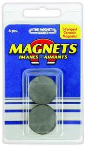 Master Magnetics 07004 Ceramic Disc Magnets 1x5/32 In