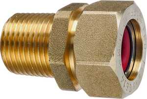 Pro-flex PFMF-3406 Tube To Pipe Adapter Male Fitting 3/4 in Brass
