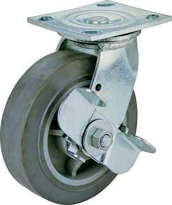 MintCraft JC-T06 6 in x2 in Swivl/Brake Plate Caster