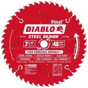 Freud D0748F 7-1/4 48tht Metal Blade