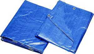 MintCraft T1012BB90 10x12 Medium Duty Blue Tarp