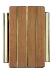 Thomas & Betts-Carlon DH506 Medium Oak/Vert Line Door Chime