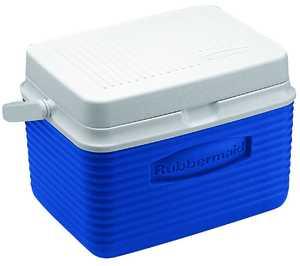 Rubbermaid Home 2A09-04 MODBL 5-Quart Blue Cooler