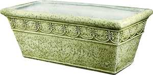 MintCraft PT-029 25 in Rectl. Planter Moss Green