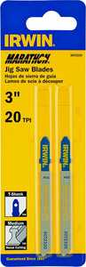 Irwin 3072320 Jigsaw Blade 3 in 20tpi Bi-Metal