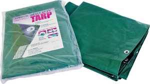 MintCraft T1620GS140 16x20 H.duty Green/Silver Tarp