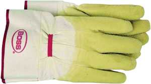 Boss Gloves 8424 Glove Rubber Coated Cotton