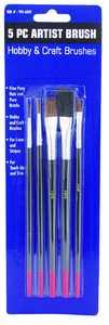 MintCraft A55505 5pc Craft Brush Set