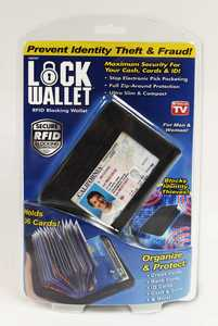 Ontel Products LW-MC12 Lock Wallet