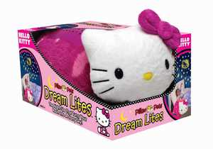 Ontel Products DLKITTY-MC4 Hello Kitty Pillow Pet Dream Lites