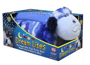 Ontel Products DLCDOG0MC4 Blue Camo Puppy Pillow Pet Dream Lites