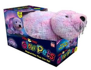 Ontel Products 30114 Seal Pillow Pet Glow Pets