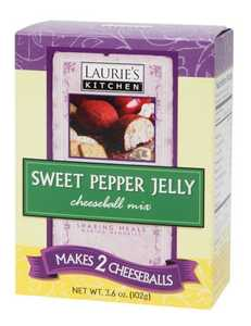 Laurie's Kitchen W61090 Sweet Pepper Jelly Cheeseball Mix 2-Pack