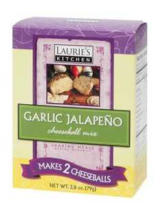 Laurie's Kitchen W61135 Garlic Jalapeno Cheeseball Mix 2 Pack