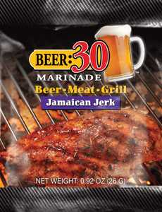 Old World Spices OW88020 Beer:30 Jamaican Jerk Marinade