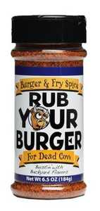 Old World Spices OW85190 Rub Your Burger BBQ Rub