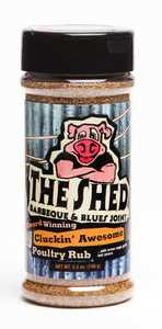 Old World Spices OW74010 The Shed Cluckin' Awesome Poultry Rub