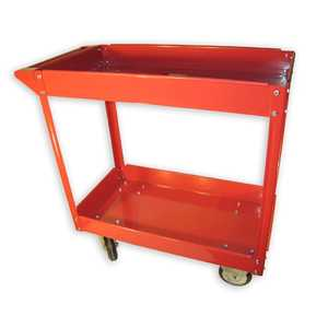 Olympia Tools 85-184 2 Shelf Steel Cart 600-Lb