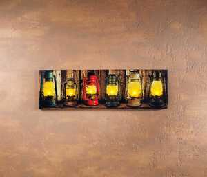 ohio Wholesale 13259 Lighted Art Lighted Laterns 12 in x 40 in