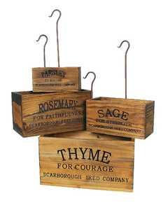 ohio Wholesale 29529 Nesting Herb Box Set 4pc