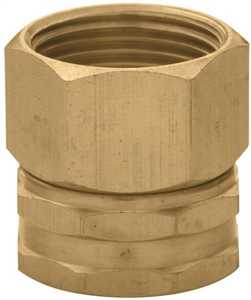 Orbit Irrigation 53036 3/4-Inch X 3/4-Inch Brass Swivel Hose-To-Pipe Adapter