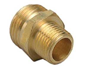 Orbit Irrigation 53261 1/2-Inch X 3/4-Inch Brass Hose-To-Pipe Fitting